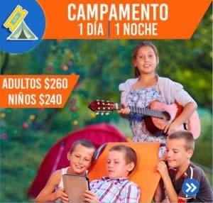 CAMPAMENTO (1 DÍA, 1 NOCHE)