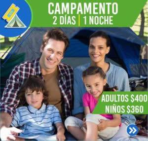 CAMPAMENTO (2 DÍAS,1 NOCHE)