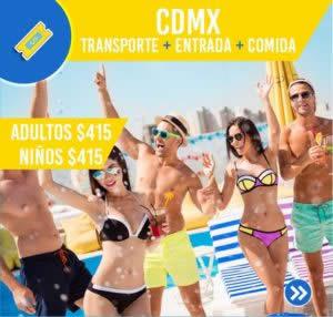 CDMX (TRANSPORTE,ENTRADA,COMIDA)