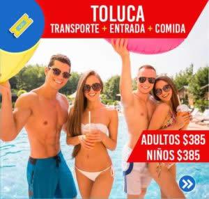 TOLUCA (TRANSPORTE, ENTRADA, COMIDA)