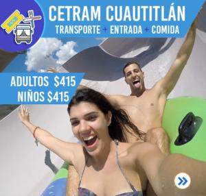CETRAM CUATITLÁN (TRANSPORTE, ENTRADA, COMIDA)