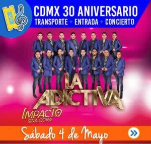 cdmx entrada transporte concierto