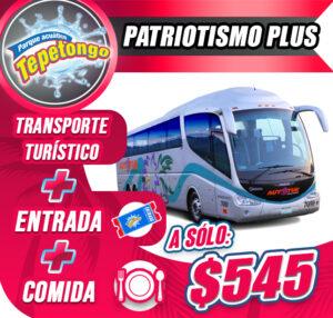 Paquete Patriotismo Plus �545
