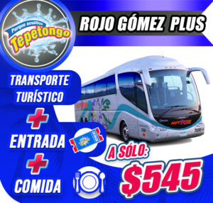 Paquete Rojo Gómez Plus �545