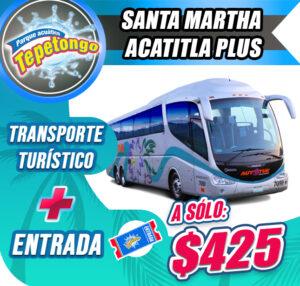 Paquete Santa Martha Acatitla Plus �425